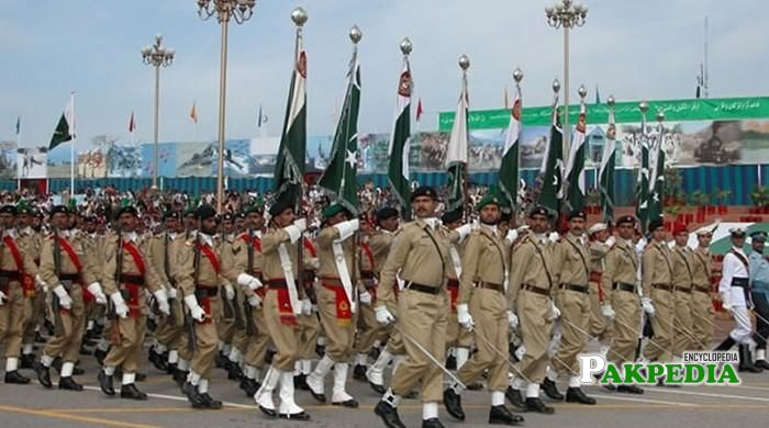 Military power of Government of Pakistan