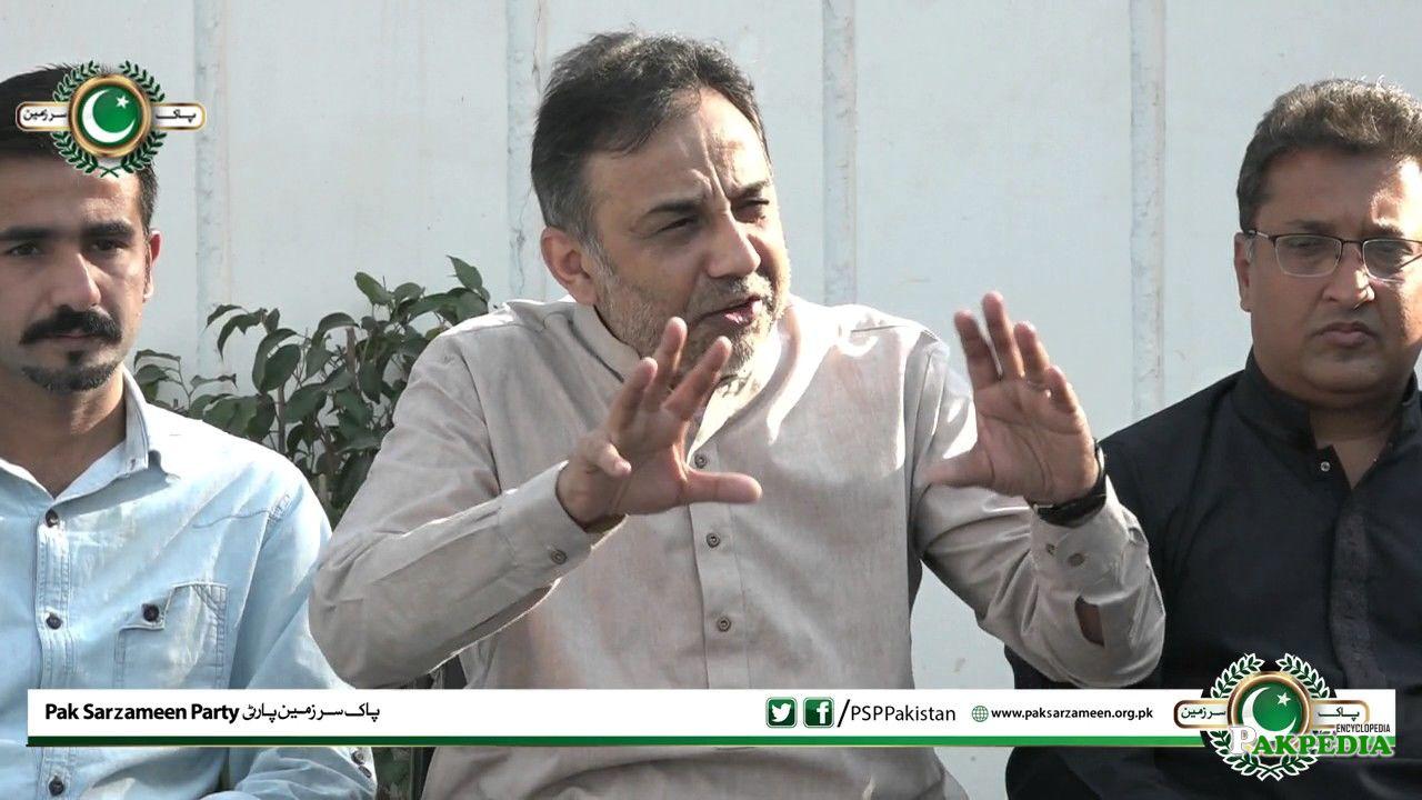 Secretary Raza Haroon