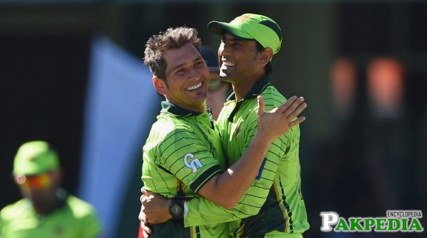 Yasir Shah and Younus