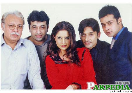Khayyam Sarhadi;s photo in the shooting set