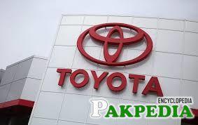 Toyota company Pakistan