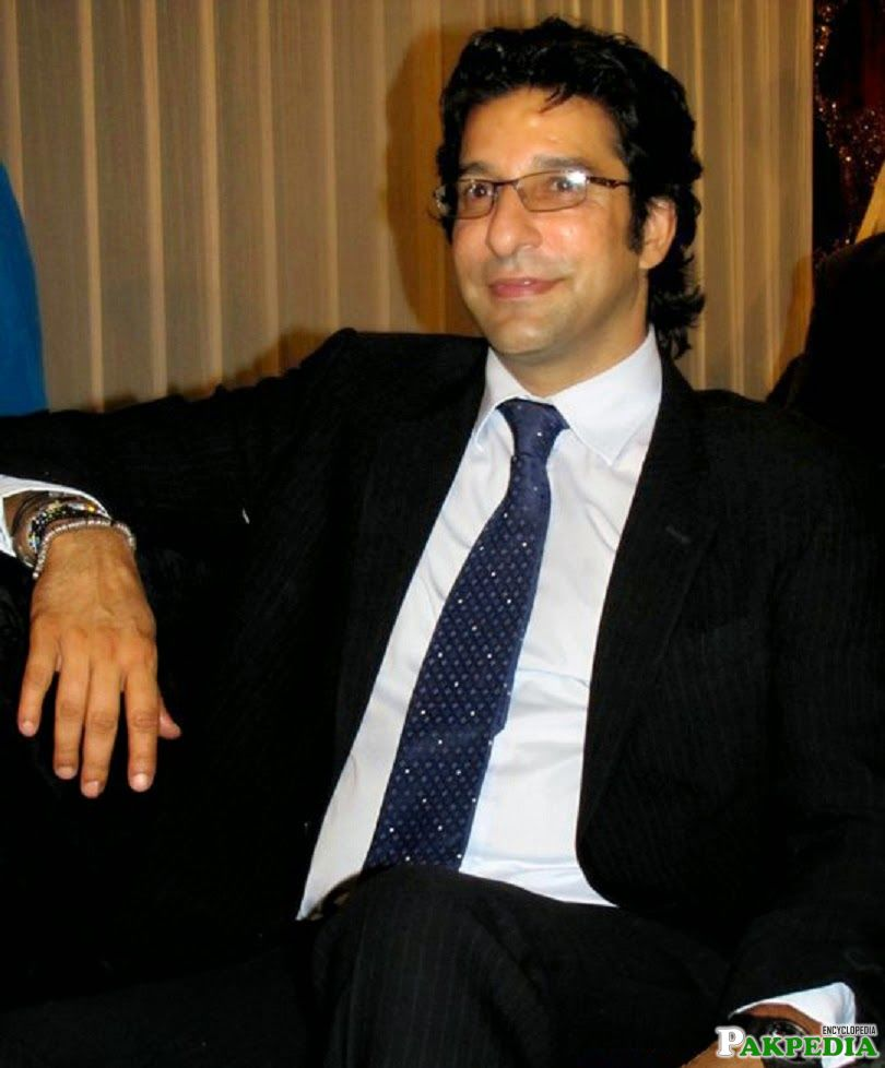 Wasim Akram an old Picture