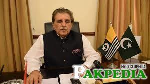 Farooq Haider Khan A Kashmiri leader