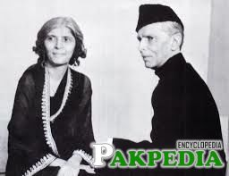 Fatima Jinnah with her brother