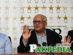 Chairman Pakistan Cricket Board Mr. Zaka Ashraf Meeting with Pakistan Disabled Cricket Association