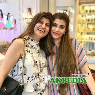 Minna with her mother Rubina Ashraf