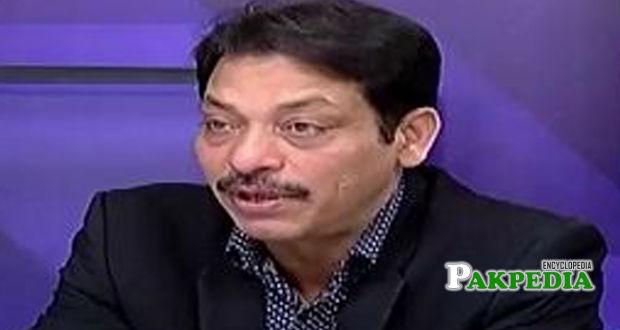 Politician Faisal raza abidi