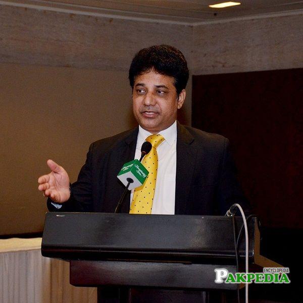 A politician and practising lawyer Khalil Tahir Sandhu
