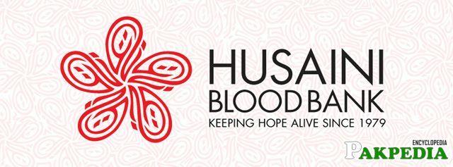 Husaini blood bank LOGO