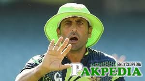 younis khan in green hat