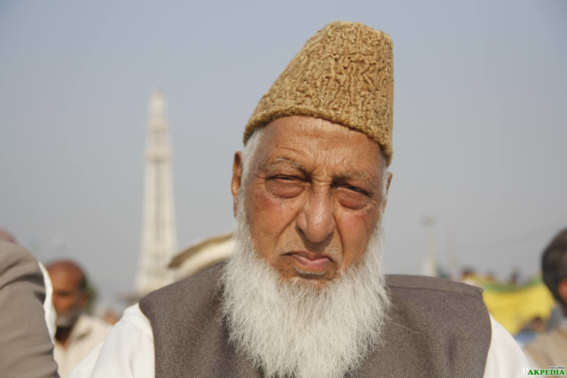 Naimatullah Khan at Minar-e-Pakistan in Jalsa