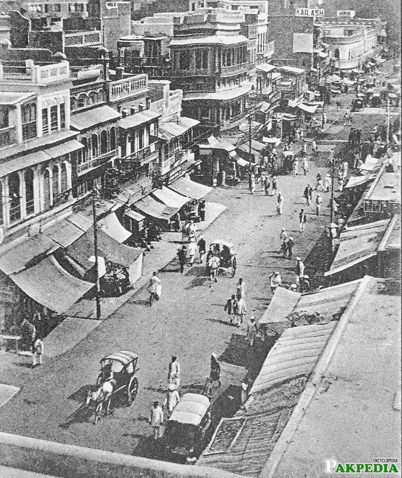 Quetta in 1935
