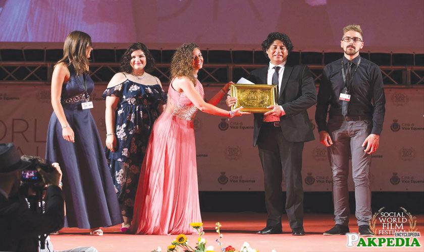 Farhan Alam Best Film and Best Director Award