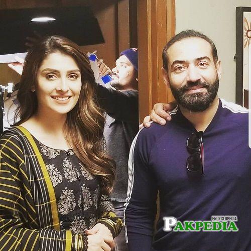 Nadeem Baig and Ayeza Khan