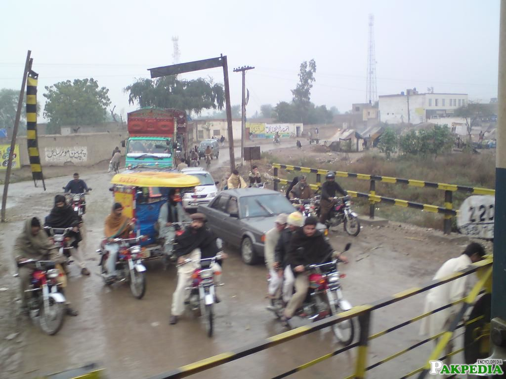 Khanewal in the Punjab province of Pakistan