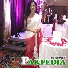 Ramina looking elegant in sarhi