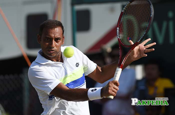 No 1 tennis champian aqeel khan