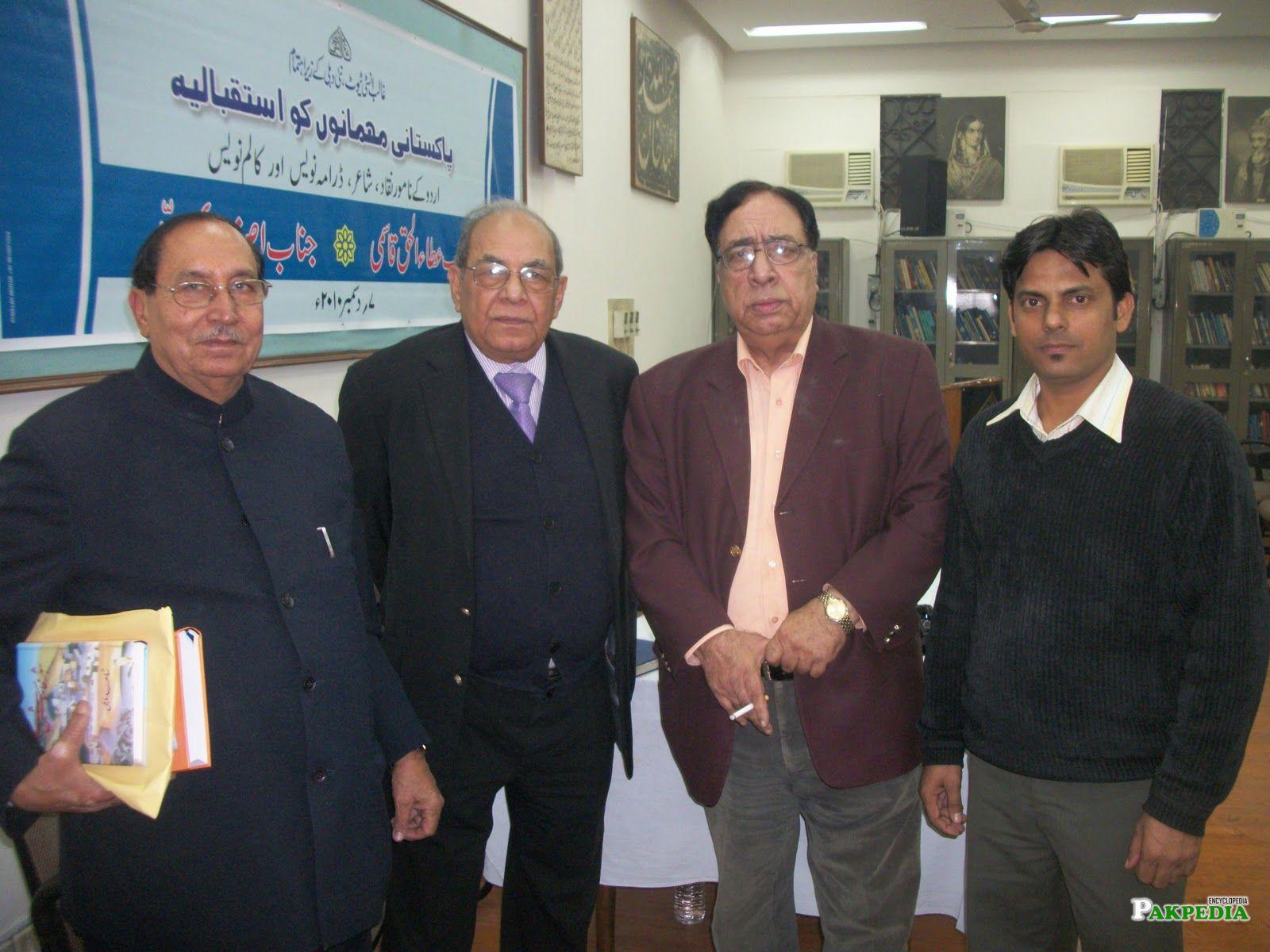K.l. Narang Saqi, Shahid Mehdi, Ata ul Haq Qasmi (Pakistan), Jatinder Parwaaz