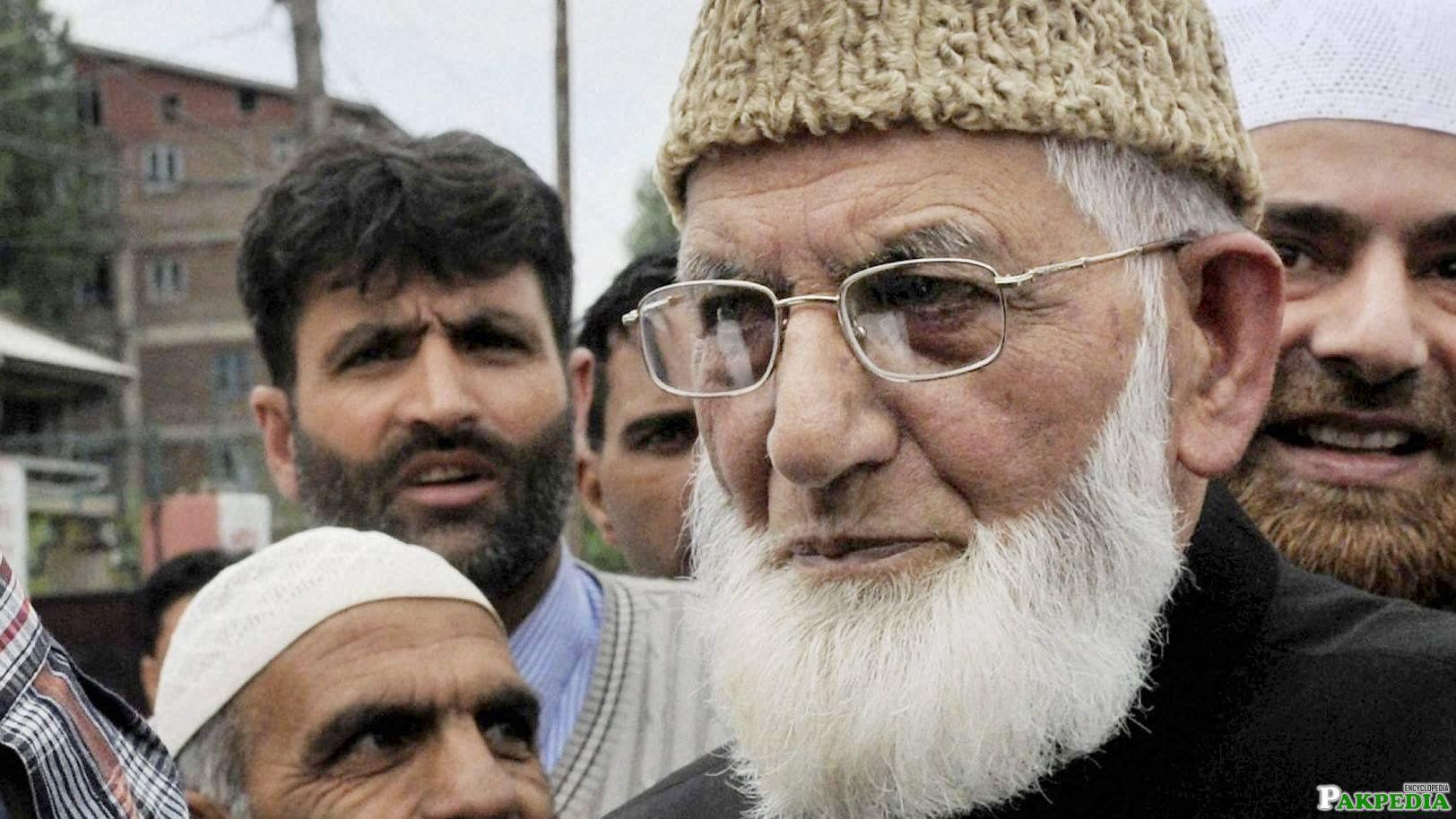 Syed Ali Shah Geelani member of Jamaat-e-Islami Kashmir