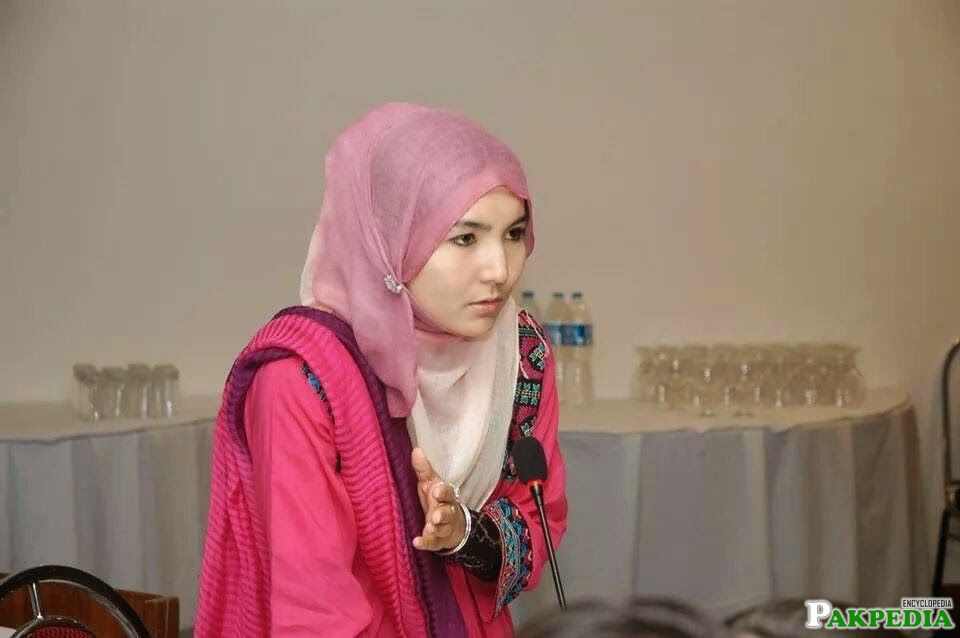 Hazara Girl Shazia Batool
