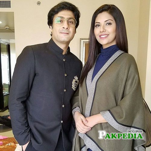 Kamran Jilani with Sunita Marshal