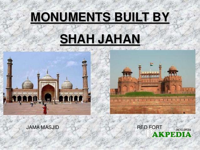 Legacy of shahjahan