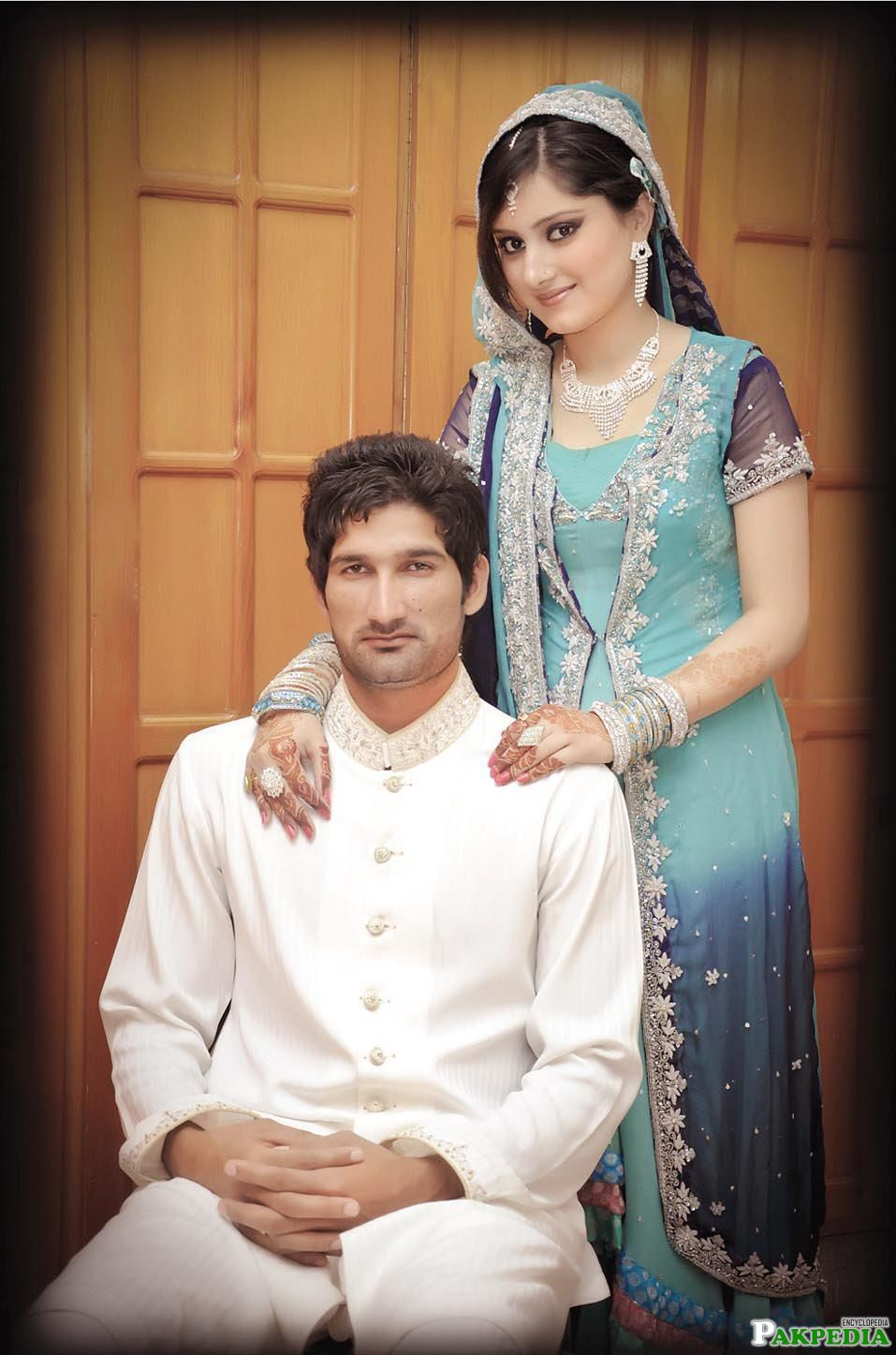 Sohail Tanvir With His Wife
