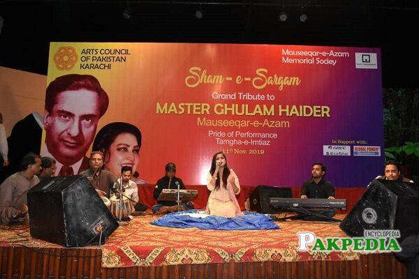 Ghulam Haider Biography