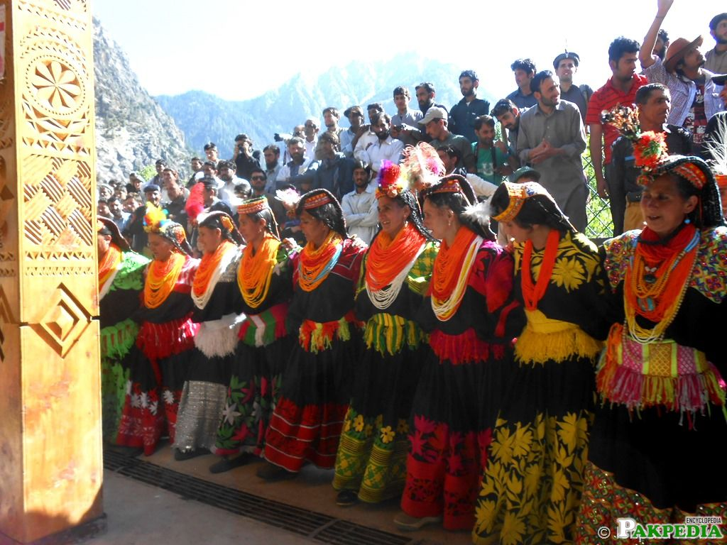 Kalash Culture Group Dance