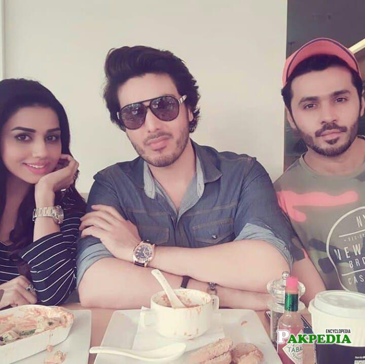 Yasmin Haq with Ahsan Khan