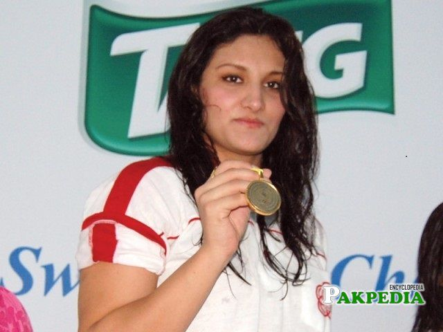 Kiran Khan is the winner of 353 Gold medals and 70 International medals.