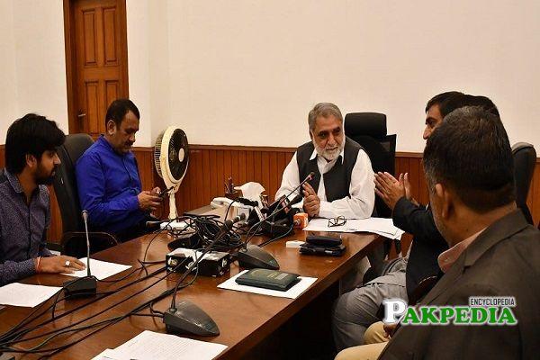 Muhammad Mohsin Leghari elected as MPA