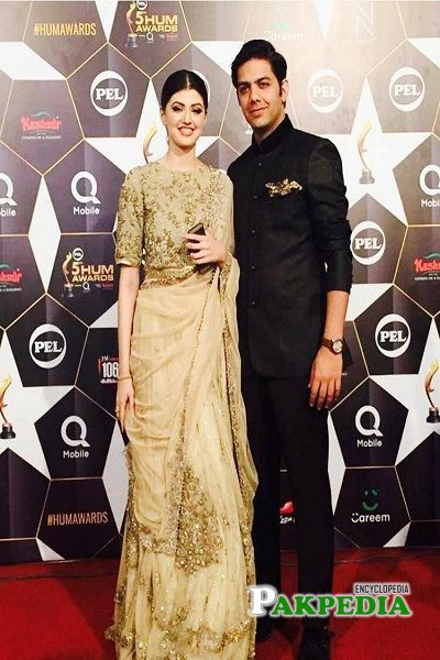 Anam Gohar in Hum awards