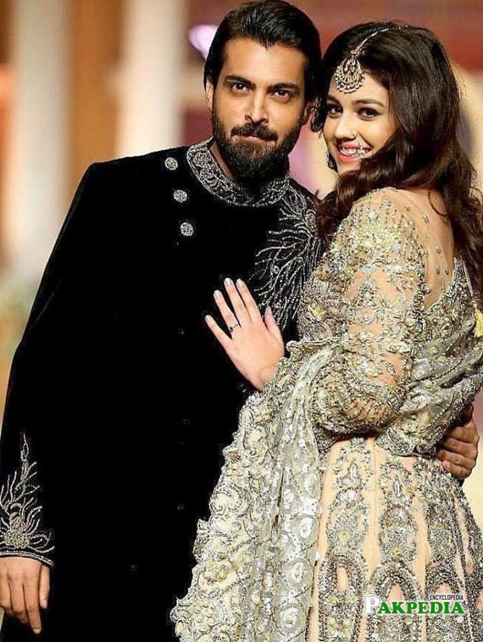 Zara with her husband Asad Siddiqui