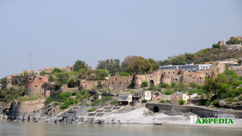 Attock Fort During Sunset