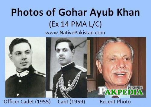 Military career of Gohar Ayub Khan