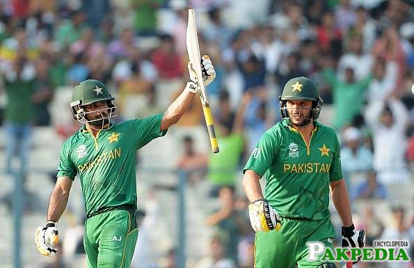 Mohammad Hafeez played well against India