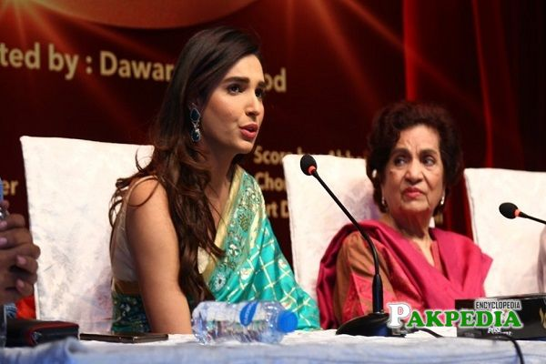 Amna Ilyas Family