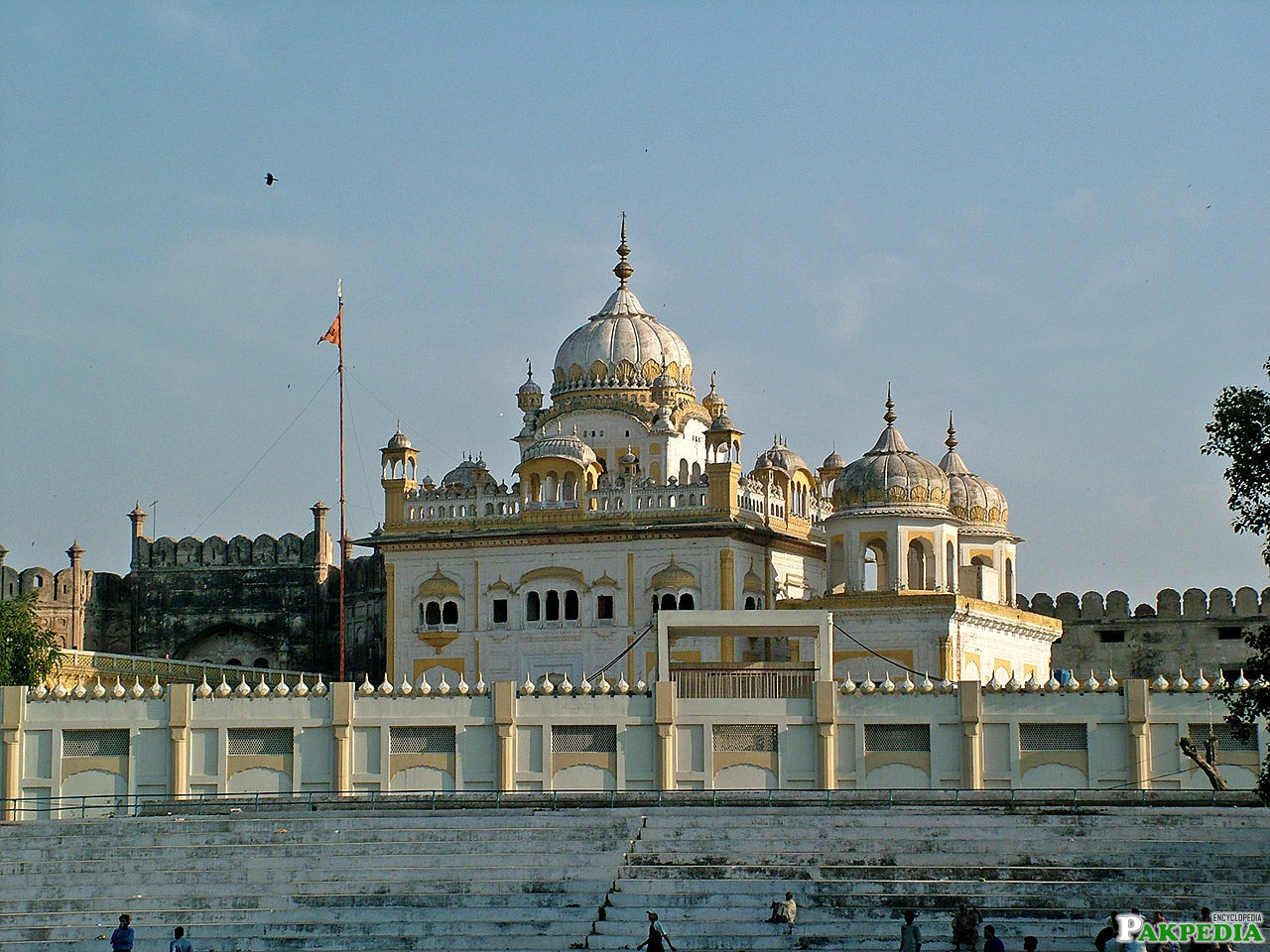 Samadhi Of Ranjit Singhis a historical place