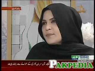 In PTV's morning show