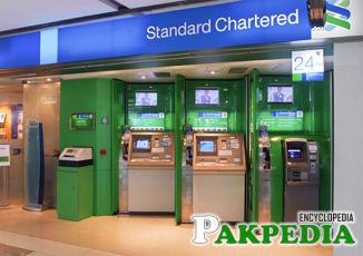 Standard Chartered Bank Machine