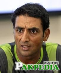 Mohammad Wasim in Green Shirt