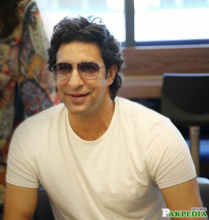 Wasim Akram Personal Photo