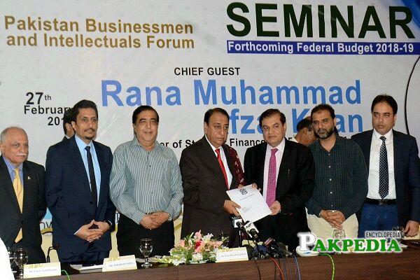 Rana Afzal Khan Family