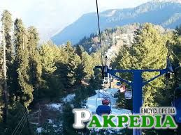 chair lift in murree