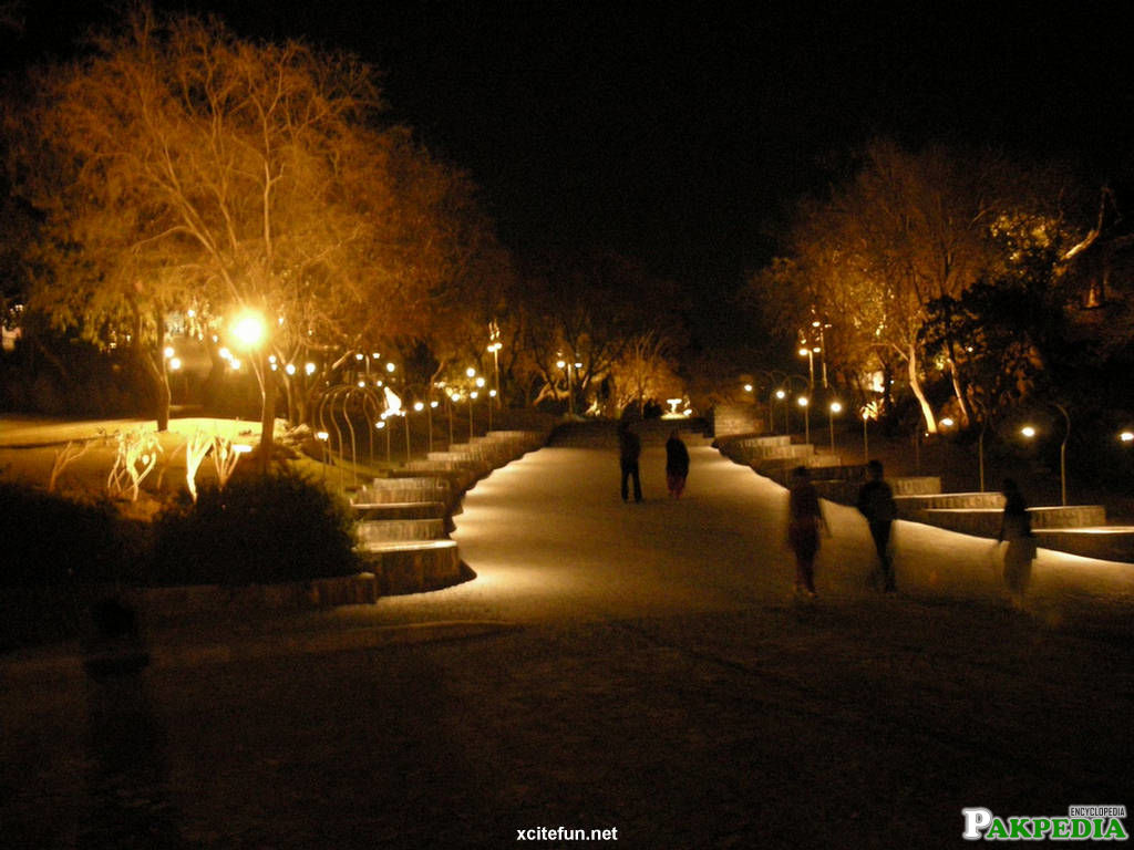 Daman-e-Koh Night View