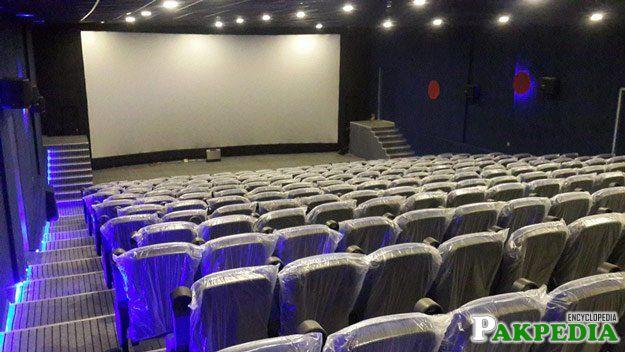Abbottabad Cinema inside the Hall