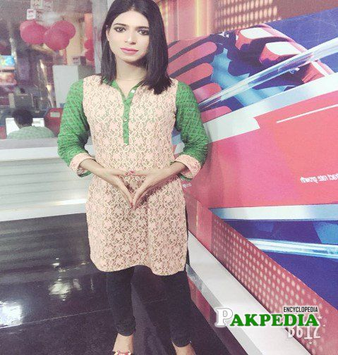 Educated and confident news caster Marvia Malik