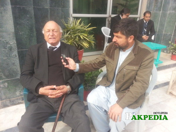 Telling the Problems of Fata in an Interview