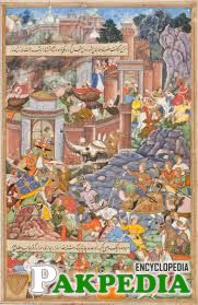 The Mughal Emperor Humayun, fights Bahadur Shah of Gujarat, in the year 1535.
